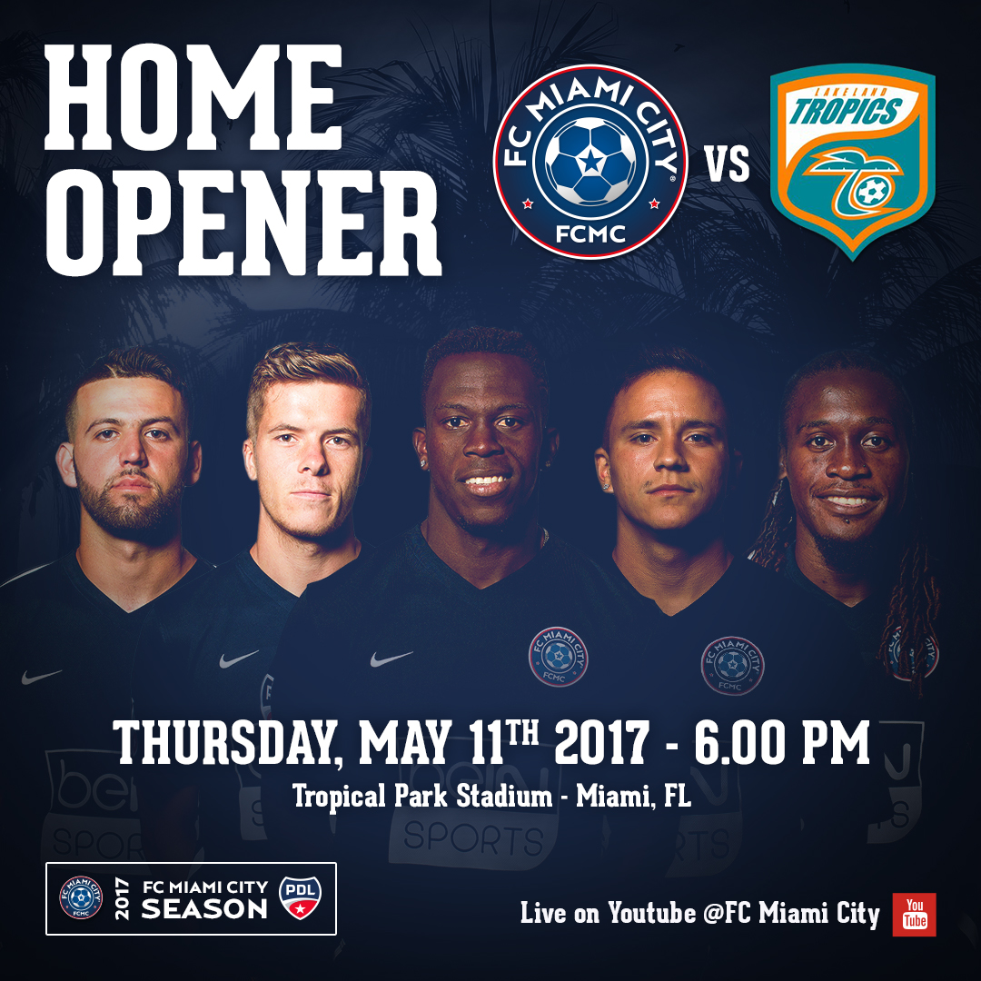 FC Miami City vs Lakeland Tropics