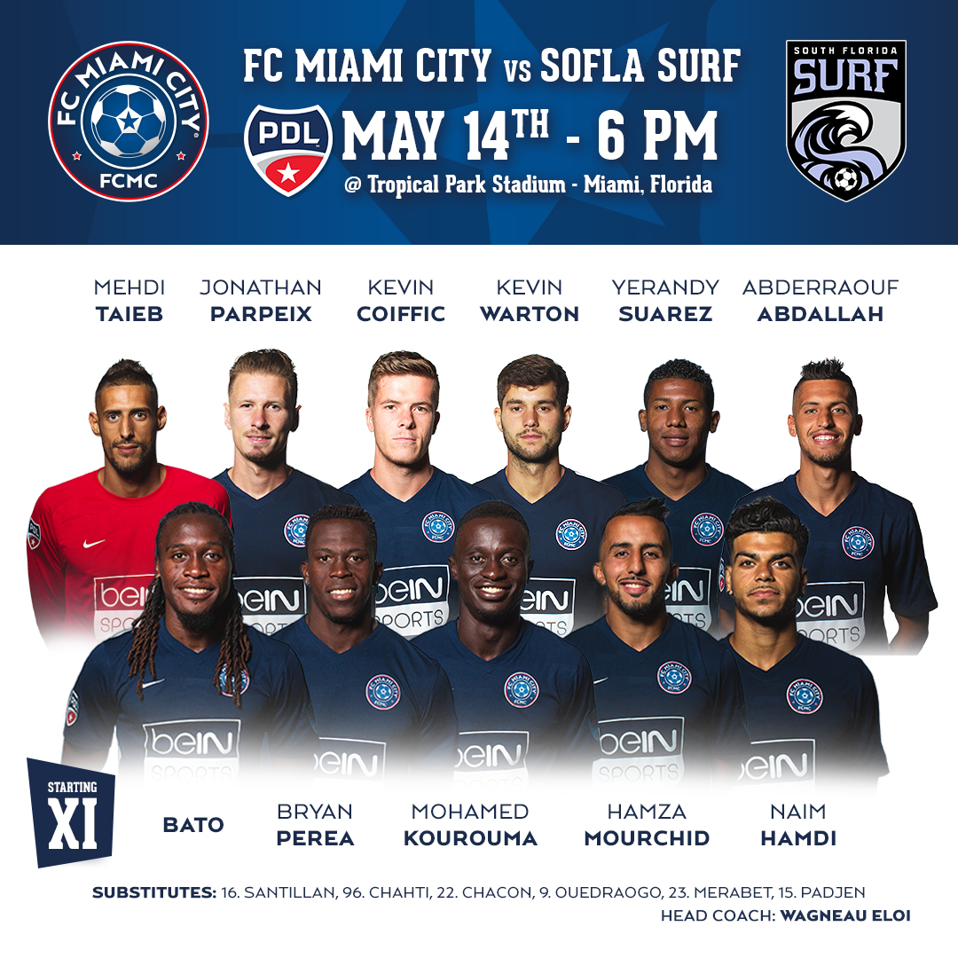FC Miami City vs South Florida Surf